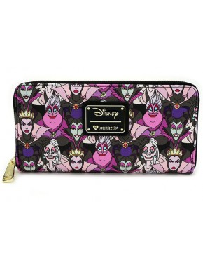 Cartera Loungefly Villanas Disney Collage