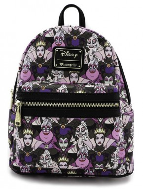 Bolso mochila Villanas Collage Disney Loungefly
