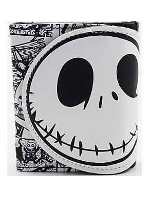 Cartera Jack Skellington pattern