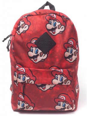 Mochila Super Mario Faces