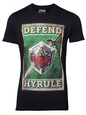 Camiseta Zelda Sword & Shield