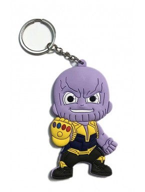 Llavero caucho Thanos Marvel