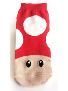 Calcetines Super Mario seta roja