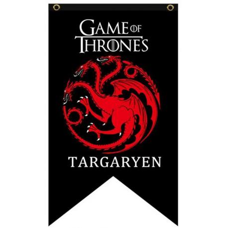 Bandera Targaryen Juego de Tronos