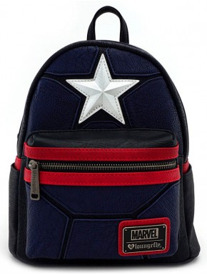 Bolso mochila Capitán América Loungefly