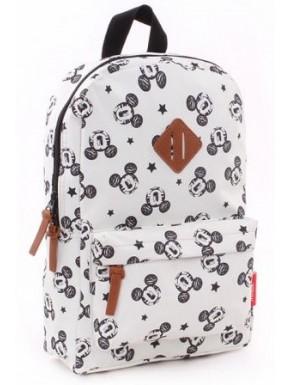 Mochila Mickey Mouse Disney Blanca