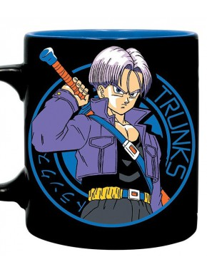 Taza Dragon Ball Trunks Capsule Corp
