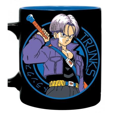 Taza Dragon Ball Trunks Capsule Corp