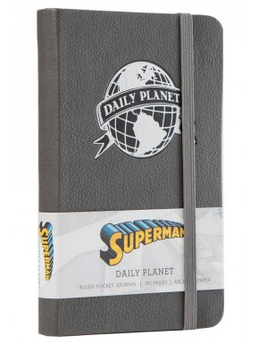 Libreta Premium A5 Superman Daily Planet