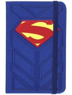 Libreta Premium A6 Superman Logo