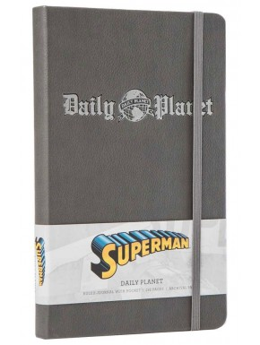 Libreta Premium A5 Superman Daily Planet Logo