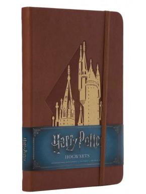 Libreta Premium A5 Harry Potter Castillo Hogwarts