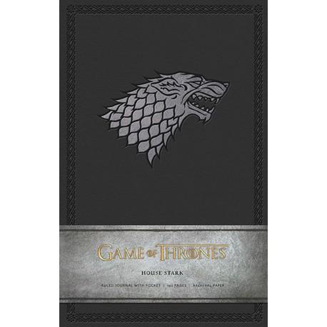 Libreta Premium A5 Juego de Tronos House Stark