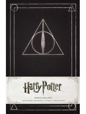 Libreta Premium A5 Harry Potter Reliquias de la Muerte