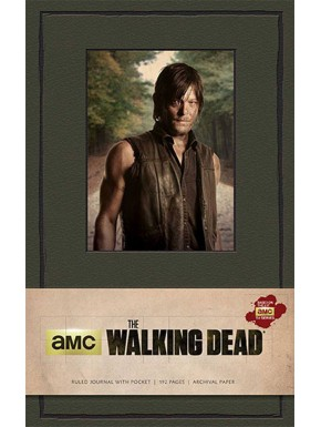 Libreta Premium A5 The Walking Dead Daryl Dixon