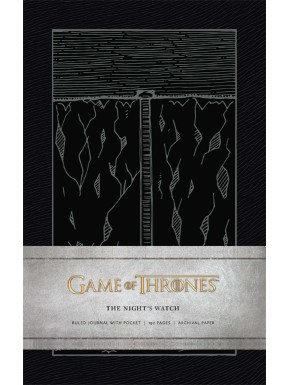 Libreta Premium A5 Juego de Tronos Night's Watch