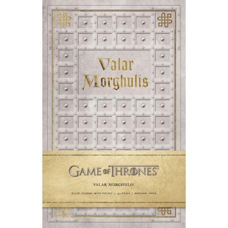 Libreta Premium A5 Juego de Tronos Valar Morghulis