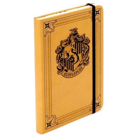 Libreta Premium A5 Harry Potter Hufflepuff Crest