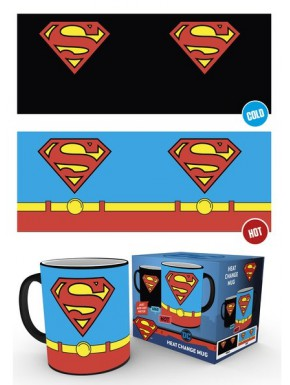 Taza Térmica Superman Costume