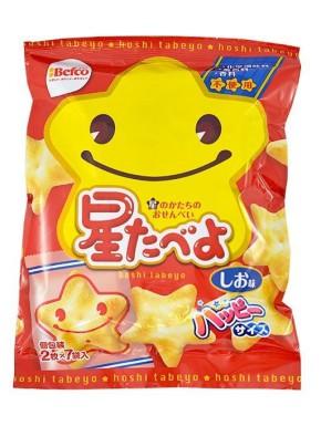 Snack de Arroz Estrellas Hoshi Tabeyo