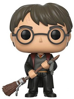 Funko Pop! Harry Potter con Escoba y Pluma