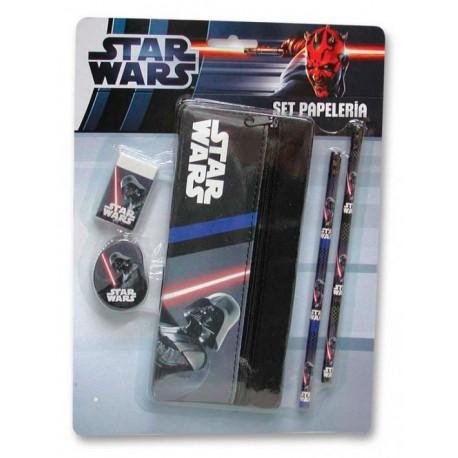 Set de Papelería Star Wars Vader Estuche