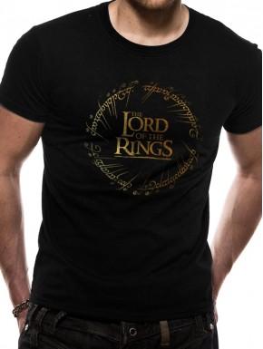 Camiseta El Señor de los Anillos Inscripción