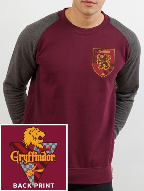 Camiseta manga larga Gryffindor Harry Potter