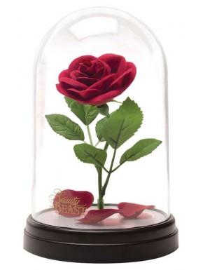 Lámpara Rosa Encantada La Bella y la Bestia