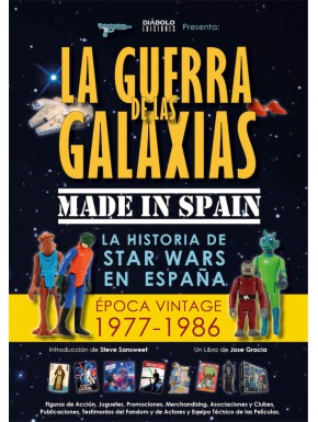 Libro Star Wars La Guerra de las Galaxias Made in Spain