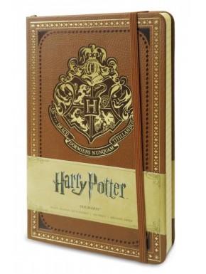 Libreta Premium A6 Harry Potter Hogwarts Crest