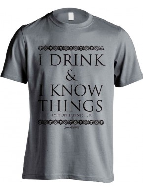 Camiseta Juego de Tronos I Drink And I Know Things