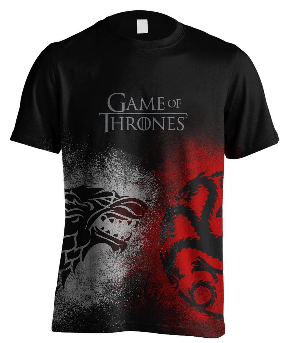 d69321e3a Camiseta Juego Tronos Stark y Targaryen solo 21 € – LaFrikileria.com