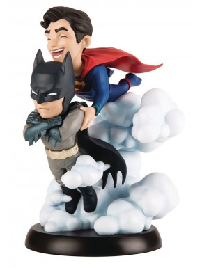 Figura Batman y Superman Q-Fig World's Finest DC