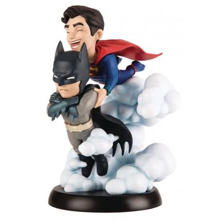 Figura Batman y Superman Q-Fig World's Finest DC