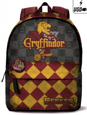 Mochila Harry Potter Gryffindor Quidditch