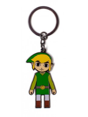 Llavero metalico Zelda Link