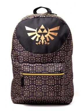 Mochila Nintendo Zelda gold triforce
