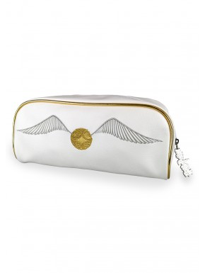 Estuche Neceser Snitch Dorado Harry Potter