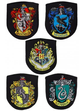 Parches Bordados Casas harry Potter