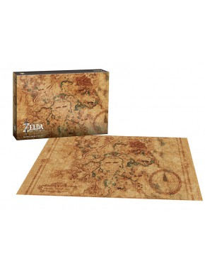 Puzzle Zelda Breath of Wild Hyrule Map