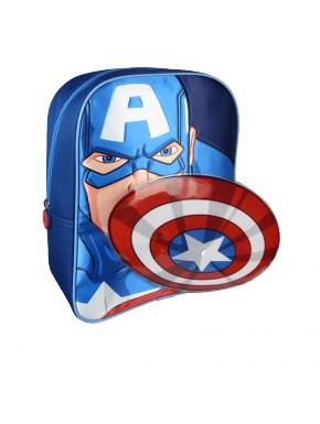 Mochila infantil Marvel Capitán América