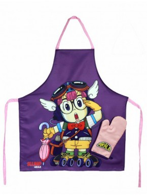 Delantal y manopla Dr Slump Arale