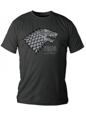 Camiseta Juego de Tronos Stark lata