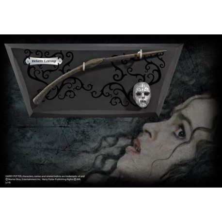 Varita Bellatrix Lestrange con expositor
