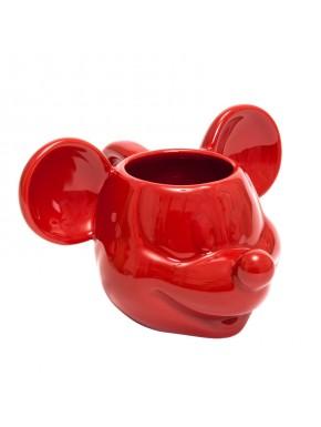 Taza 3D Mickey Mouse roja