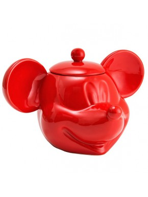 Galletero Mickey Mouse 3D rojo