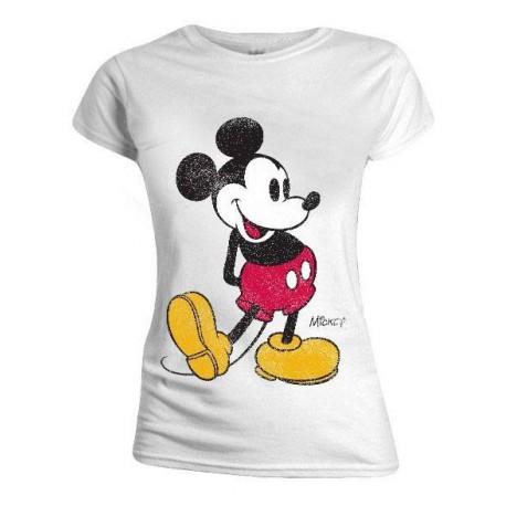 Camiseta Chica Disney Mickey Mouse vintage
