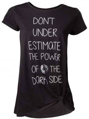 Camiseta Chica Star Wars Lado Oscuro