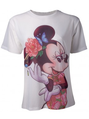 Camiseta Chica Disney Minnie Mouse vintage